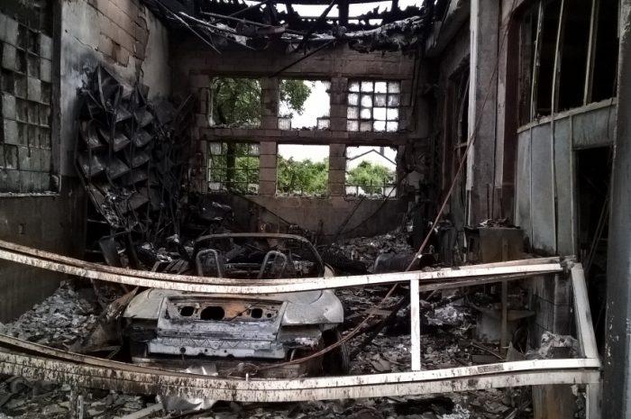 Werkstattbrand