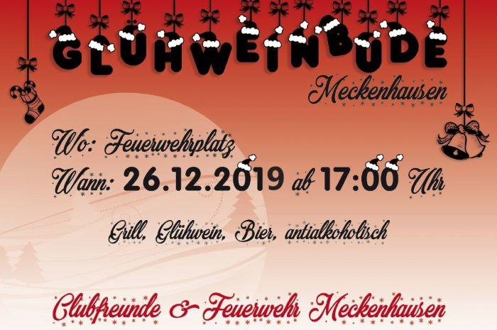 Einladung zur Glühweinbude am 26. Dezember